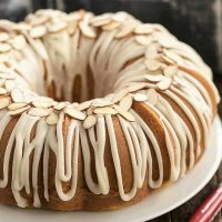 Almond Bundt Cake recipe image