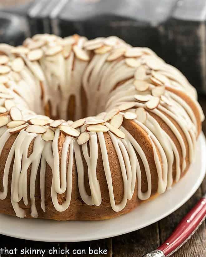 Almond Bundt Cake recipe image