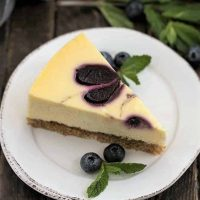 Blueberry Swirl Cheesecake featured image