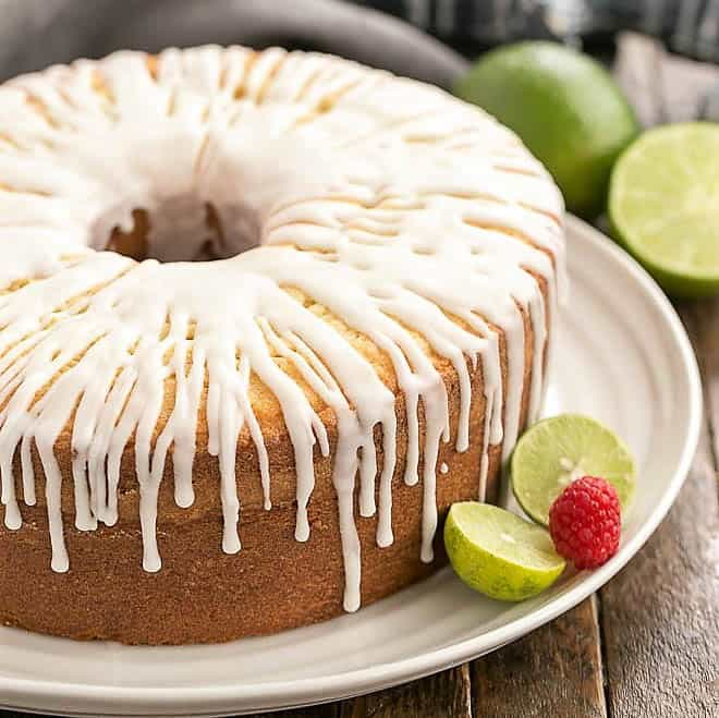 Perfect Sweet Tender Key Lime Pound Cake That Skinny Chick Can Bake