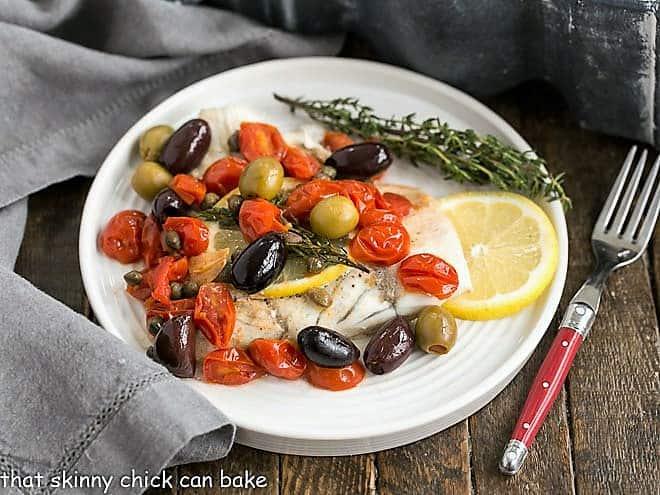 Mediterranean Sea Bass en Papillote featured image