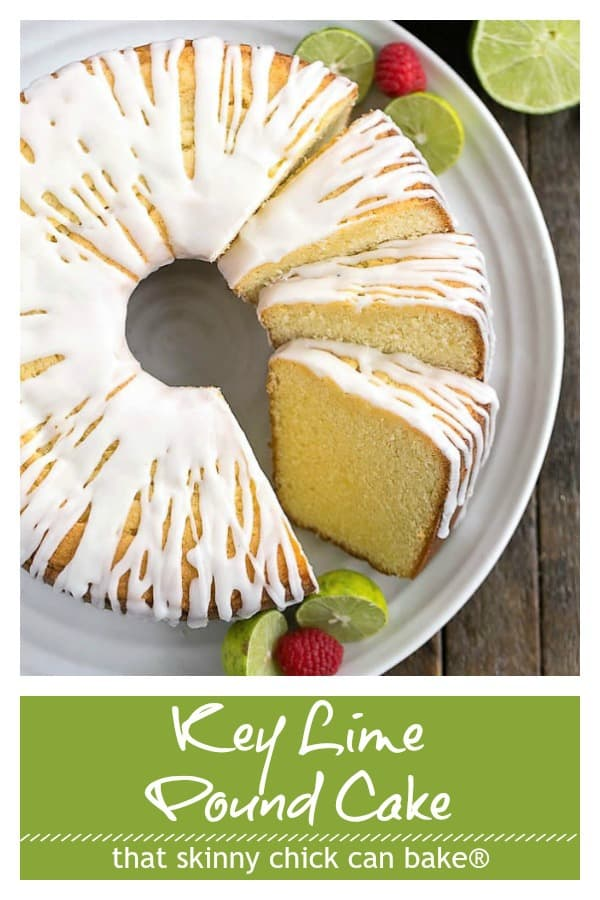 Key Lime Pound Cake That Skinny Chick Can Bake