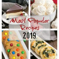 The Most Popular Recipes of 2019 Featured image collage