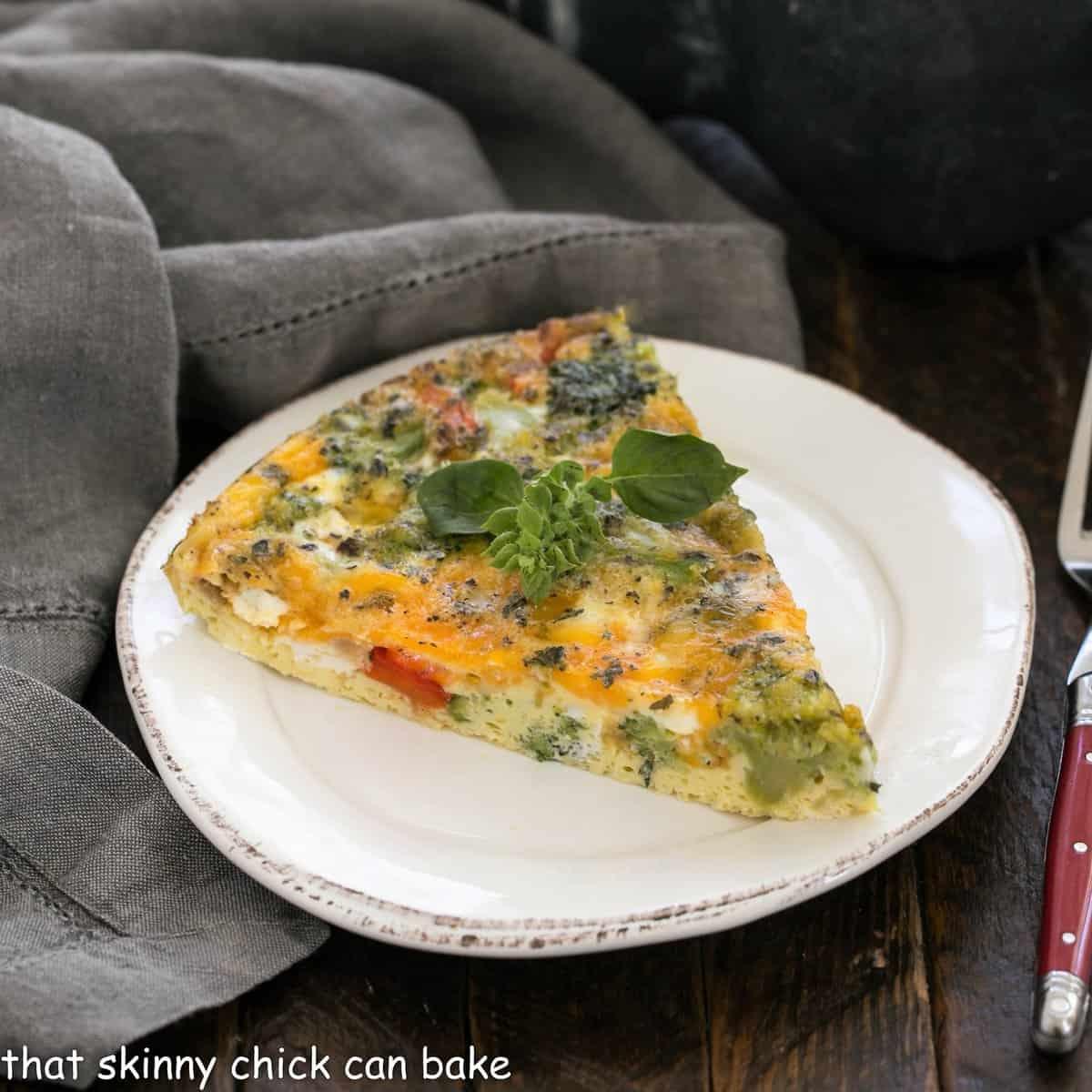 The Recipe Roasted Broccoli Frittata